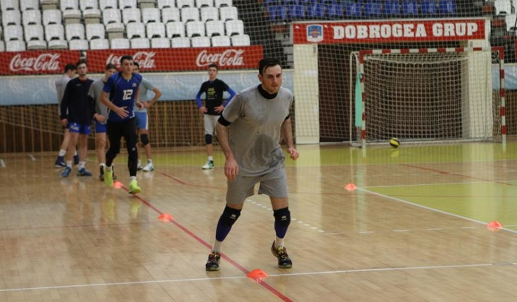 Andrei Laza a anunțat conducerea clubului constănțean că nu va mai continua la CVM Tomis