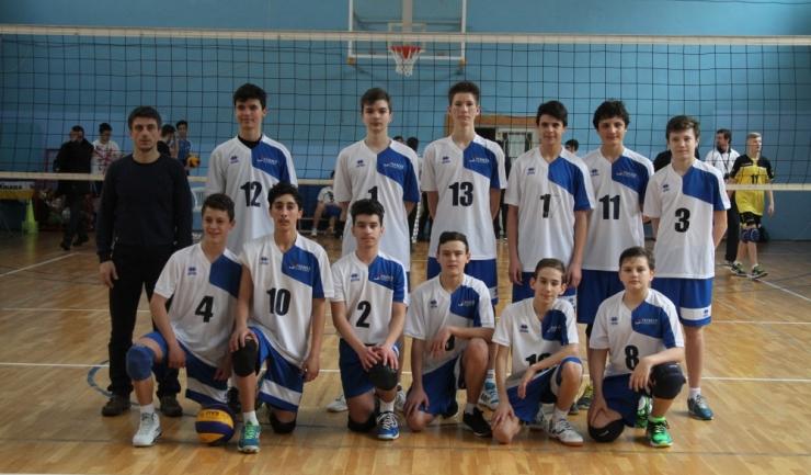Echipa de speranțe a CVM Tomis Constanța se menține în lupta pentru medalii