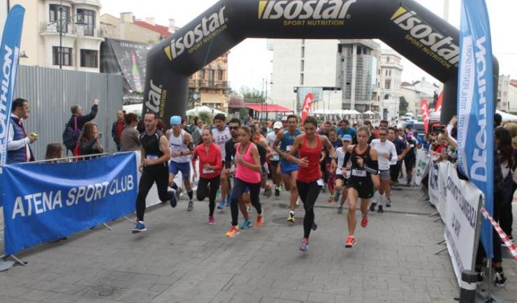 """Aproape 200 de participanți au fost prezenți la startul cursei de 10 km de la """"Black Sea 10k"""""""