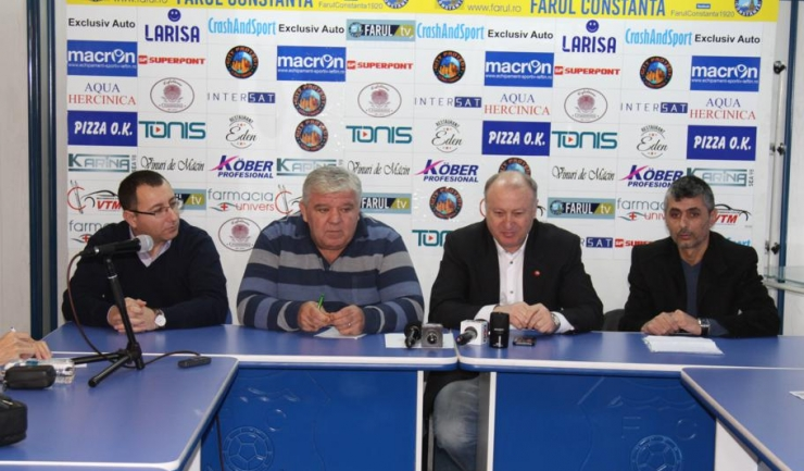 SSC Farul a organizat luni prima conferință de presă din acest an