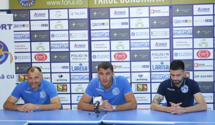 Reprezentanții SSC Farul Constanța speră să obțină un rezultat pozitiv în meciul de la Sarichioi
