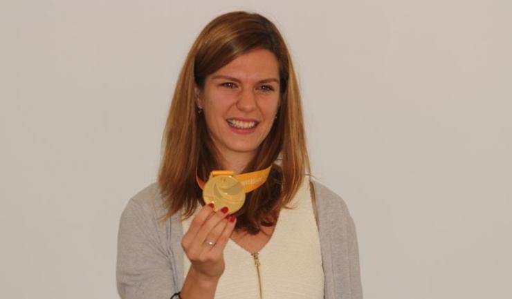 Alina Rotaru a adus la Constanța medalia de aur obținută la Jocurile Mondiale Universitare de la Taipei