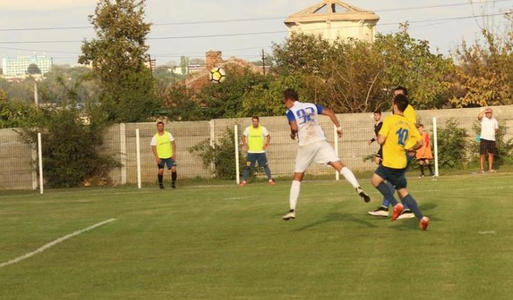 Claudiu Dragu (numărul 92) a marcat de două ori pentru SSC Farul Constanța în meciul disputat sâmbătă la Techirghiol