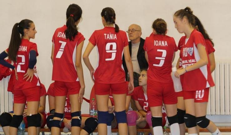 ACS Top Volei 05 Constanța a cedat în trei seturi primul meci jucat în acest campionat
