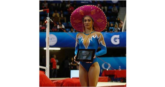 Cătălina Ponor a urcat pentru ultima oară în carieră pe podium, la Openul Mexican