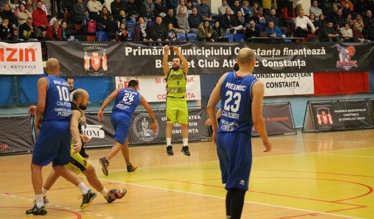 Vladuimit Mihai a reușit cinci coșuri de trei puncte în meciul de duminică