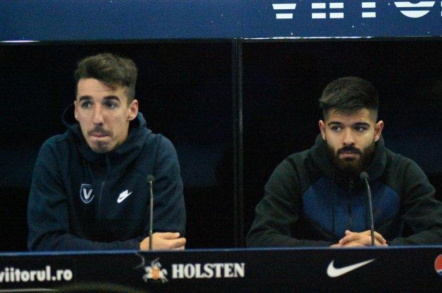 Andrei Artean şi Ionuţ Vînă sunt pregătiţi pentru meciul de duminică