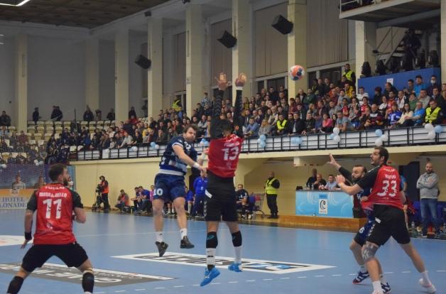 Janko Kevic a marcat zece goluri pentru HCDS în meciul de luni