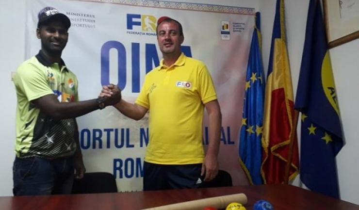 Narender Kumar şi Nicolae Dobre speră ca oina să câştige teren şi în India