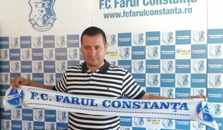 """Ianis Zicu, antrenor principal SSC Farul: """"Sper să înțeleagă că eu vin cu toată pasiunea pentru a ajuta clubul"""""""