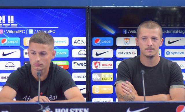 Alexandru Mățan și Vlad Achim așteaptă cu încredere duelul cu Dinamo