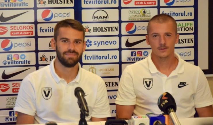 Bogdan Țîru și Vlad Achim au încredere într-un rezultat pozitiv în meciul de joi