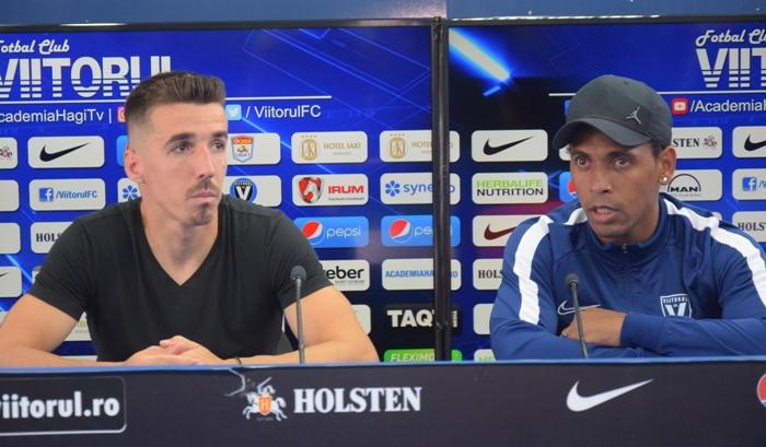 Andrei Artean şi Eric de Oliveira ştiu că partida de la Sf. Gheorghe nu va fi una uşoară