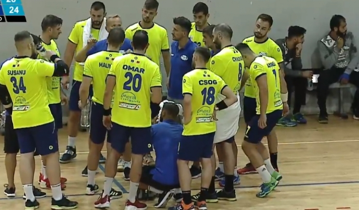 Handbaliştii constănţeni au controlat jocul de vineri (sursa foto: www.hcdobrogeasud.ro)
