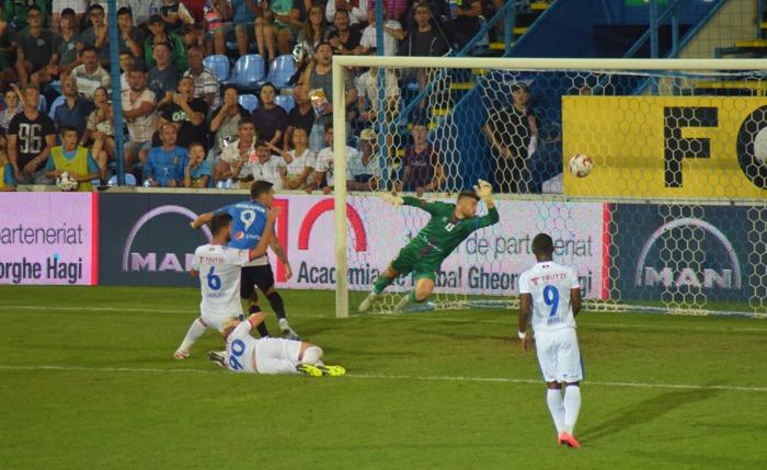 Gabriel Iancu a marcat al doilea gol al Viitorului