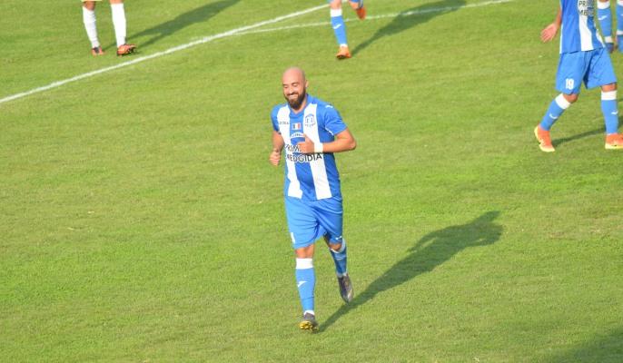 Georgian Păun, fostul jucător de la SSC Farul Constanţa, evoluează acum la CS Medgidia şi a marcat al doilea gol în partida de sâmbătă
