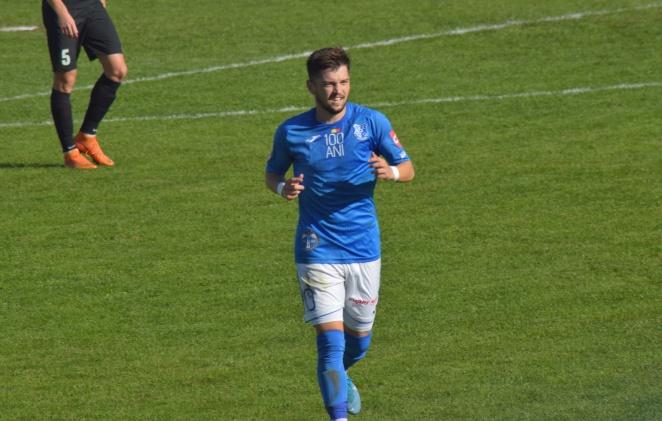 Alexandru Stoica a marcat un gol, a obţinut o lovitură de la 11 metri şi a oferit o pasă de gol în partida de sâmbătă