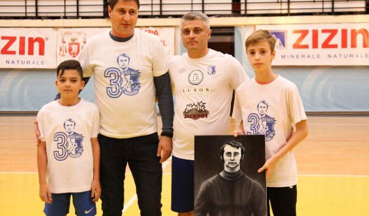 Dimitrie Carabaş, Claudiu Antonescu, Stelian Carabaş şi Eduard Antonescu