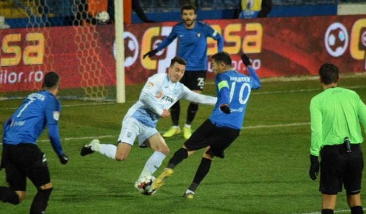 Gabriel Iancu a marcat golul Viitorului
