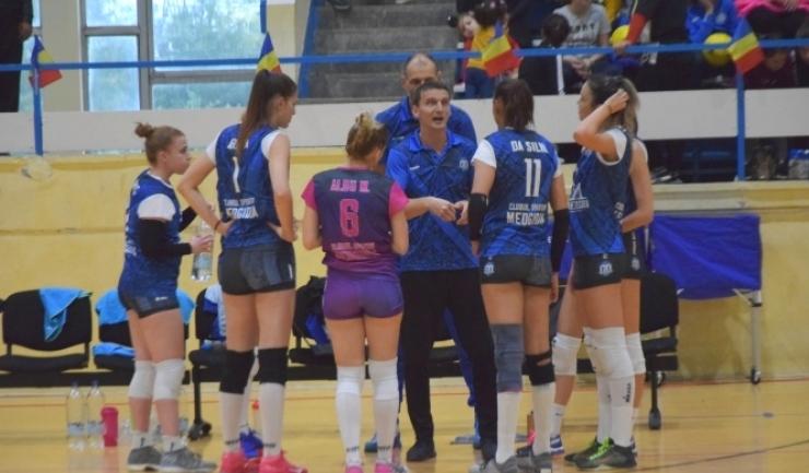 Voleibalistele de la CS Medgidia sunt favorite în partida cu Rapid Bucureşti