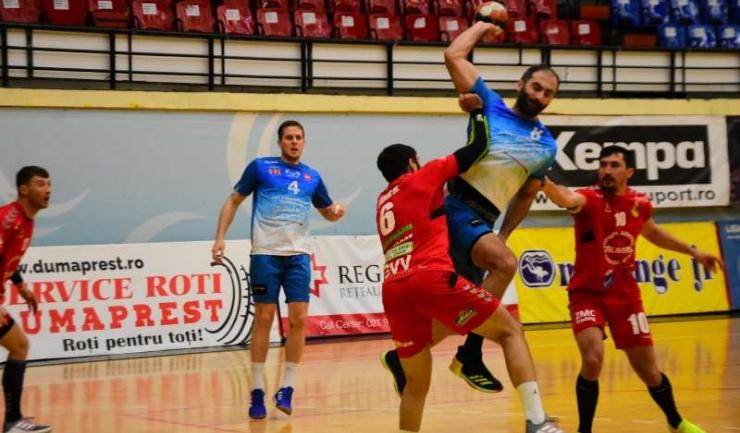 Dejan Malinovic (nr. 4) a marcat cele mai multe goluri pentru HCDS