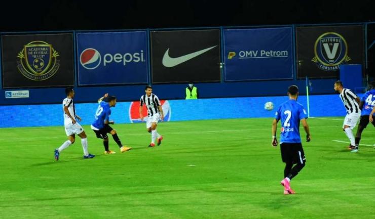 Golgheterul Gabriel Iancu a înscris de două ori în meciul de sâmbătă seară