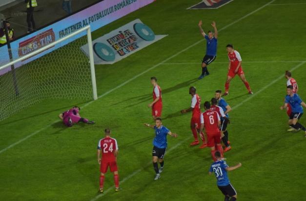 Fundaşul Virgil Ghiţă a înscris primul gol al Viitorului şi a salvat un gol în a doua repriză a prelungirilor