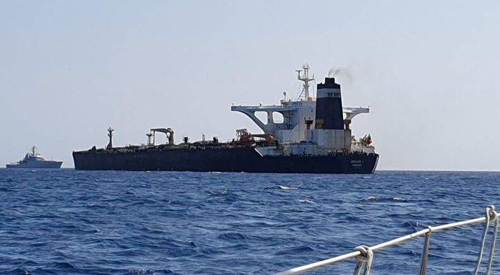 Administraţia de la Teheran a anunţat vineri că ar putea sechestra o navă britanică în cazul în care petrolierul Grace 1 nu este eliberat
