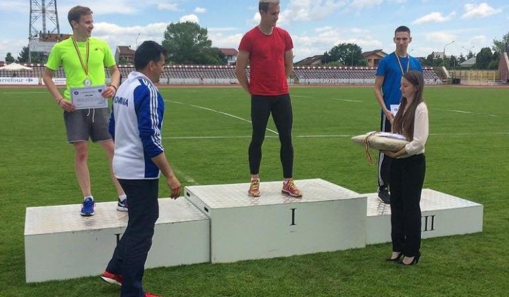Cristian Nedelcu a câștigat proba de 400 m garduri