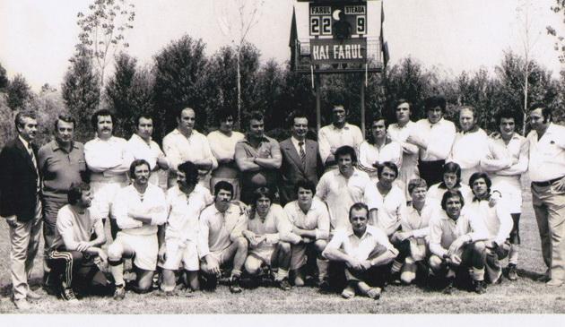 Echipa Farului care a cucerit titlul din 1974-1975
