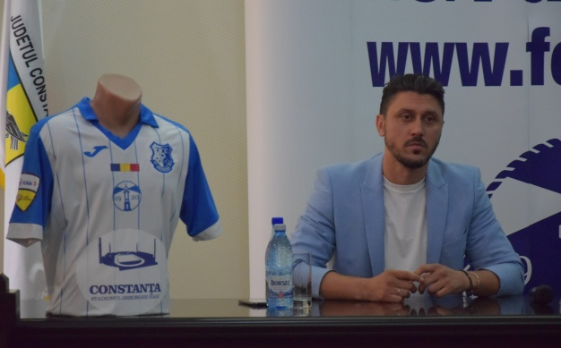 Ciprian Marica vrea să fie unul dintre pilonii de susținere ai clubului constănțean