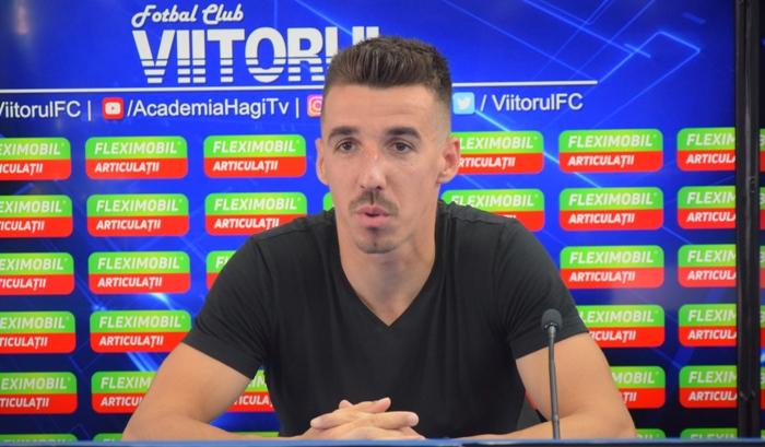 """Andrei Artean: """"Sperăm să facem un meci foarte bun şi să venim acasă cu cele trei puncte"""""""