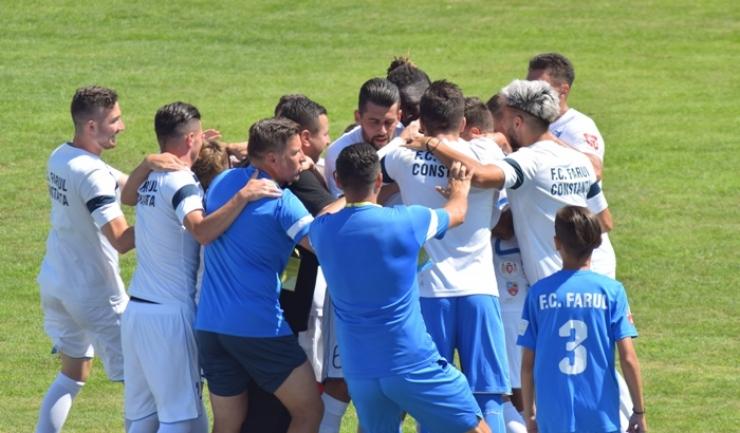 În etapa a treia a eşalonului secund, FC Farul va evolua duminică, la Chiajna
