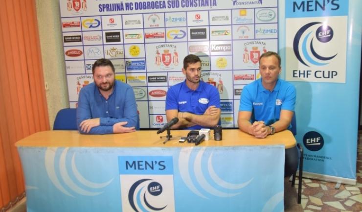 Ionuţ Rudi Stănescu, Zoran Nikolic şi Djordje Cirkovic aşteaptă şi sprijinul suporterilor