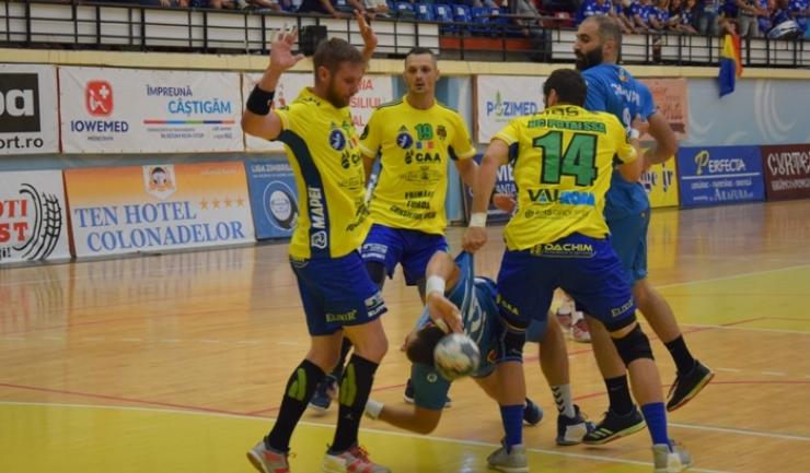 În tur, Potaissa s-a impus la Constanţa, scor 32-27