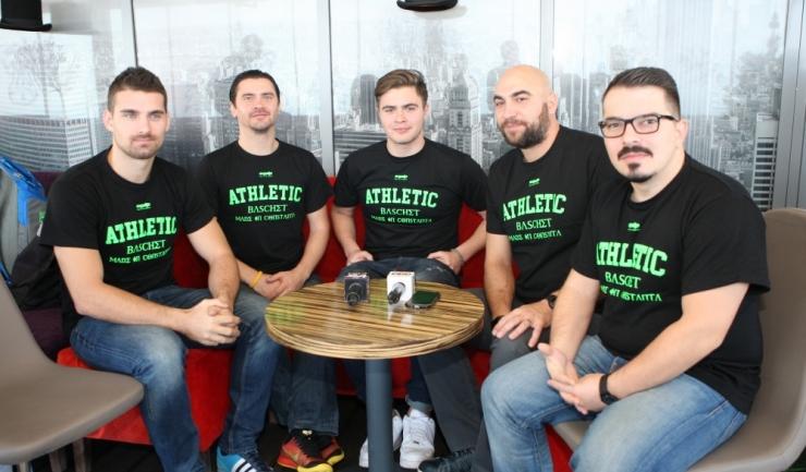 Reprezentanții Baschet Club Athletic Constanța mulțumesc fanilor pentru susținerea din 2016 și îi așteaptă alături de ei și anul viitor