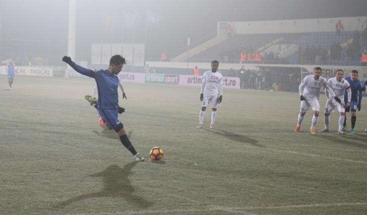 Gabi Iancu a marcat golul egalizator din penalty