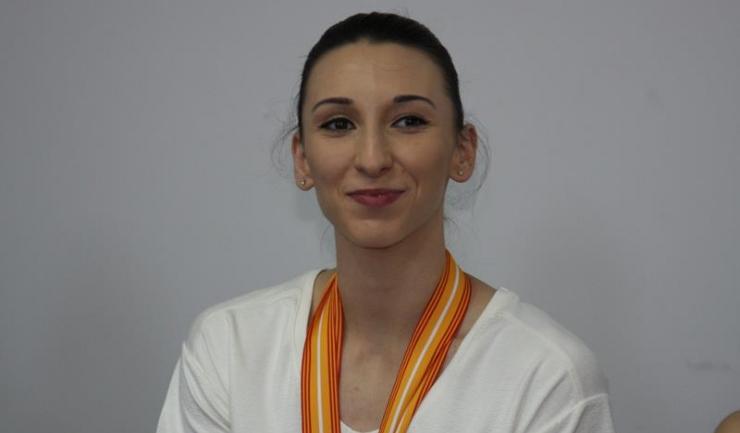 Oana Corina Constantin a cucerit pentru prima oară titlul de campioană mondială la individual