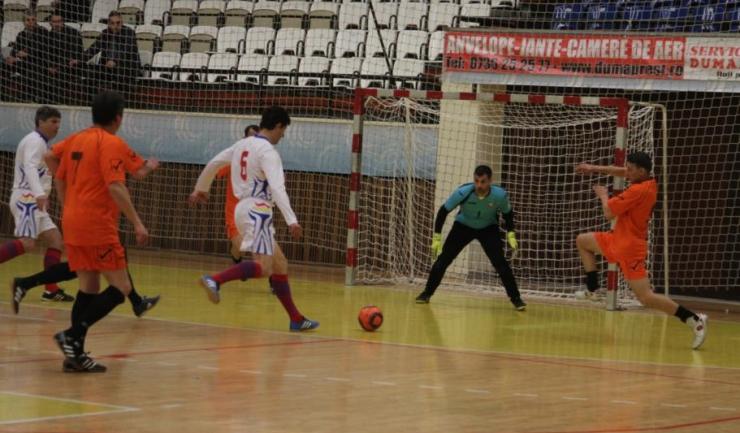Miodrag Belodedici a marcat cele două goluri pentru ASC Săgeata Stejaru