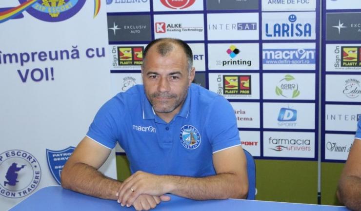 """Gheorghe Mina, antrenor secund SSC Farul: """"Sper ca în cele două manșe ale barajului să arătăm pe teren că suntem echipa mai bună și că merităm promovarea"""""""