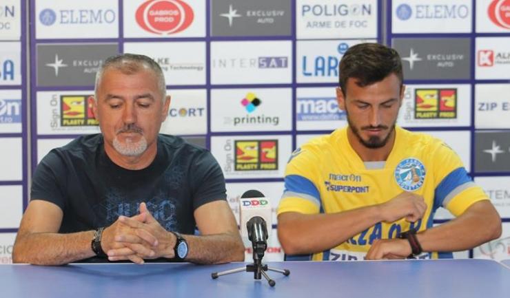 Petre Grigoraș și Costel Nițescu se gândesc deja la meciul de vineri, de la Voluntari
