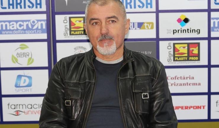 """Petre Grigoraș, antrenor principal SSC Farul: """"Mă bucur că Pătulea a acceptat oferta Farului, s-a întors cu inima deschisă ca să ne dea o mână de ajutor"""""""