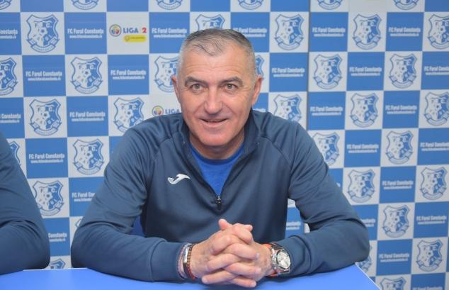"""Petre Grigoraș, antrenor principal SSC Farul: """"Dacă reușim să ne impunem sâmbătă ne-am stabiliza poziția și am avea liniștea necesară pentru următoarele meciuri"""""""