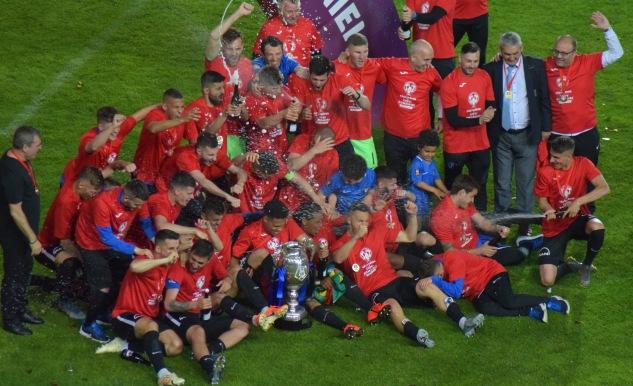 Victoria Viitorului din finala Cupei României a permis oltenilor să prindă un loc european