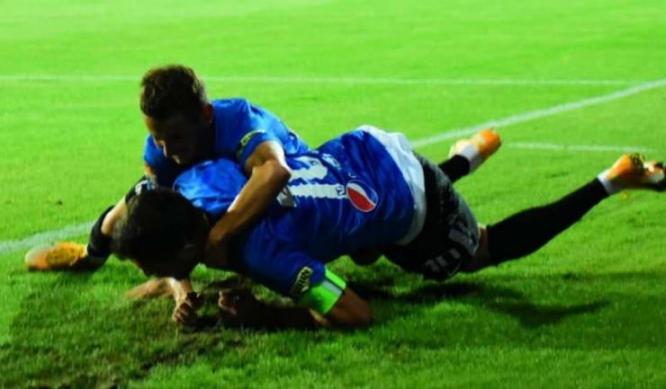 Căpitanul Viitorului, Gabriel Iancu, a marcat două goluri, iar Alexandru Măţan a înscris un gol şi a oferit două pase de gol