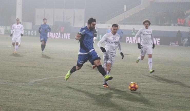 După ce a ratat o ocazie uriaşă în prima repriză, Aurelian Chiţu a înscris al doilea gol al Viitorului