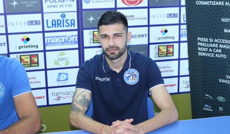 """Alexandru Grigoraș, jucător SSC Farul: """"Vrem să luăm încă din tur o opțiune serioasă pentru promovare, ca să ne facem viața mai ușoară la retur"""""""