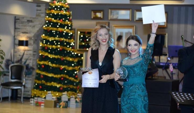 Echipa campioană europeană a fost reprezentată doar de Elizabeta Samara și Bernadette Szocs, Daniela Dodean fiind absentă de la Gală
