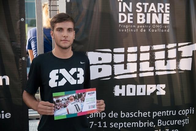 """Victor Bogdan va participa la camp-ul care face parte din proiectul """"Din stradă, la Jocurile Olimpice"""""""