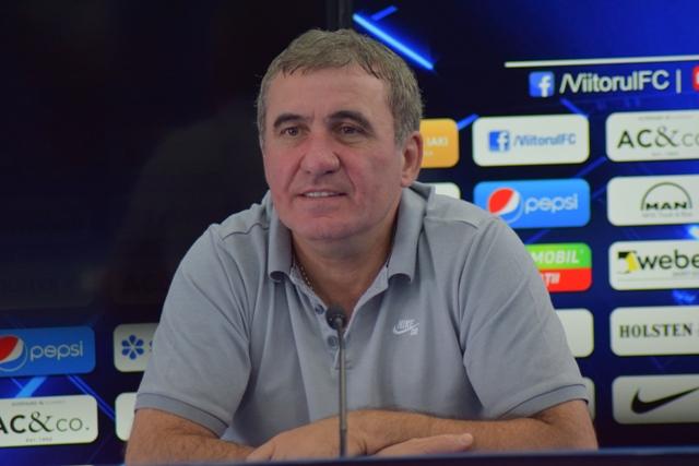 """Gheorghe Hagi, manager tehnic Viitorul: """"Ne dorim să luăm cele trei puncte, să facem un meci bun"""""""